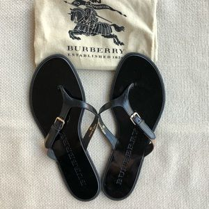 c7619bde3658cd Burberry Shoes - New Burberry Flat Thong Flip Flop Sandals